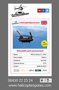 Helicopter Spares